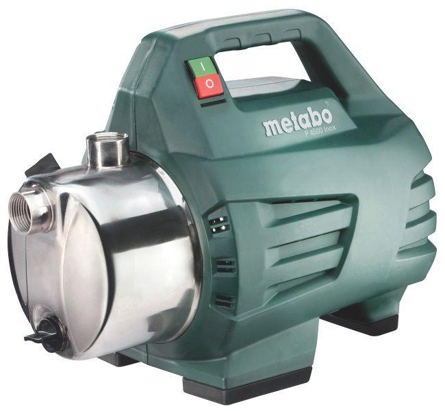 Насос Metabo P 6000 Inox [600966000]Насосы<br>Комплект поставки:<br>- Поверхностный насос Metabo P 6000 Inox<br>- паковальная лента для резьбы<br>- картонная коробка.<br><br>Особенности модели:<br>- Удобное использования - В конструкции имеется эргономичная ручка для удобства транспортировки поверхностного насоса Metabo P 6000 Inox.<br>- Малый уровень вибрации - Прорезиненные ножки сглаживают вибрацию во время работы.<br>- Эффективная система защиты от перегрева - в мощном конденсаторном двигателе последнего поколения.<br>- Интегрированная система защиты от сухого хода Metabo Pump Protection со световым индикатором -&amp;nbsp;&amp;nbsp;может работать в...<br>
