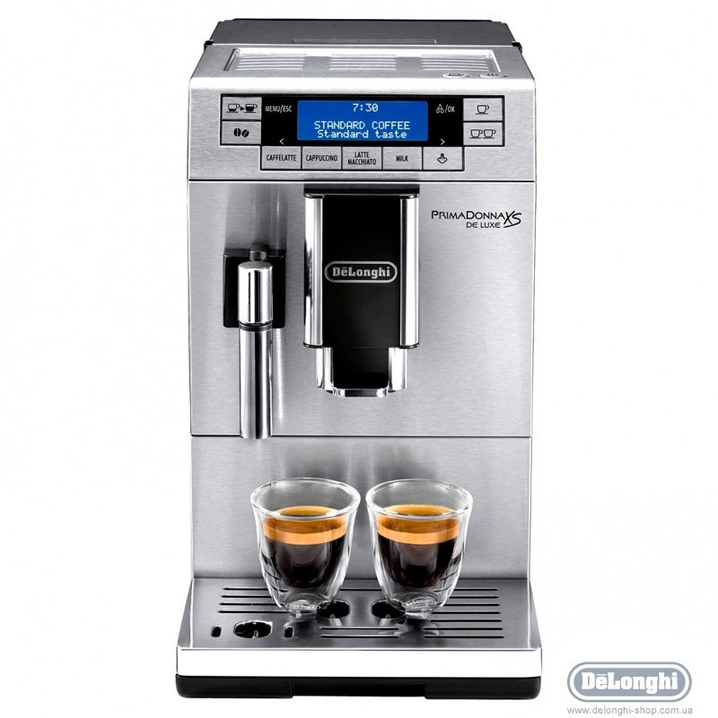 Кофемашина Delonghi ETAM 36.364 MКофеварки и кофемашины<br>DeLonghi ETAM 36.364 M: настоящий кофе у вас дома.<br>Когда хочется вкусного кофе, но не хочется идти в кофейню, надо приготовить его самостоятельно. А еще лучше поручить это задание умной кофемашине DeLonghi ETAM 36.364 M для молотого и зернового кофе.<br>Загрузите в нее ваш любимый сорт, затем выберите подходящий режим и получите одну или сразу две чашечки ароматнейшего свежего кофе. Ведь такая кофемашина умеет одновременно готовить две чашки вашего любимого напитка, будь то эспрессо, американо или даже капучино!<br>Регулировка температуры кофе, порций горячей воды, ...<br><br>Тип используемого кофе: Зерновой\Молотый<br>Мощность, Вт: 1450<br>Объем, л: 1.3<br>Давление помпы, бар  : 15<br>Материал корпуса  : Пластик<br>Встроенная кофемолка: Есть<br>Емкость контейнера для зерен, г  : 150<br>Одновременное приготовление двух чашек  : Есть<br>Подогрев чашек  : Есть<br>Контейнер для отходов  : Есть