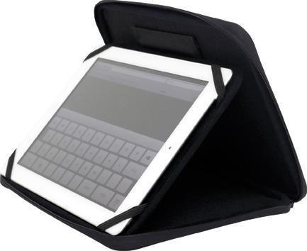 Чехол для iPad Dicom TIPAD02 mat, blackСумки для ноутбуков<br><br><br>Максимальный размер экрана: 10<br>Цвет: черный<br>Женская: нет