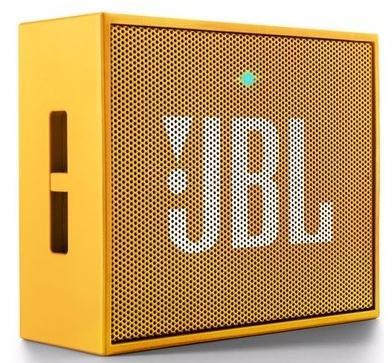 Акустическая система JBL Go YellowАкустические системы<br><br><br>Тип: Беспроводные колонки<br>Состав комплекта: портативное аудио<br>Количество полос: 1<br>Мощность, Вт: 3 Вт<br>Диапазон воспроизводимых частот: 180 - 20000 Гц<br>Интерфейсы: линейный (разъем mini jack), Bluetooth