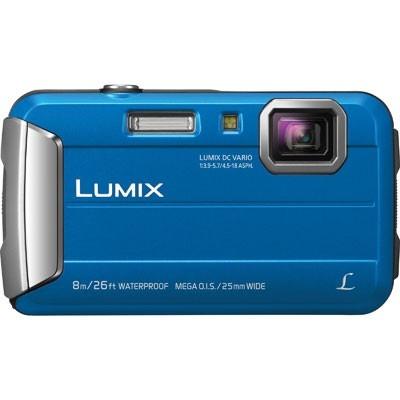 Цифровой фотоаппарат Panasonic Lumix DMC-FT30 BlueЦифровые фотоаппараты<br><br><br>Тип: Цифровой Фотоаппарат<br>Оптическое увеличение: 4x<br>Цифровое увеличение: 4x<br>Стабилизатор изображения: Оптический<br>Видеорежим: Есть<br>Звук в видеоклипе: Есть<br>Вспышка: Есть<br>Цвет: Синий<br>Кроп фактор: 5.7<br>Тип матрицы: CMOS