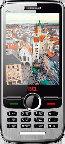 Мобильный телефон BQ BQM-2803 Munich BlackМобильные телефоны<br><br>