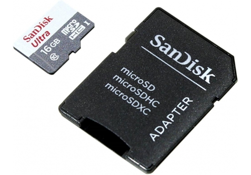 Карта памяти Sandisk SDSQUNB-016G-GN3MAКарты памяти<br><br>