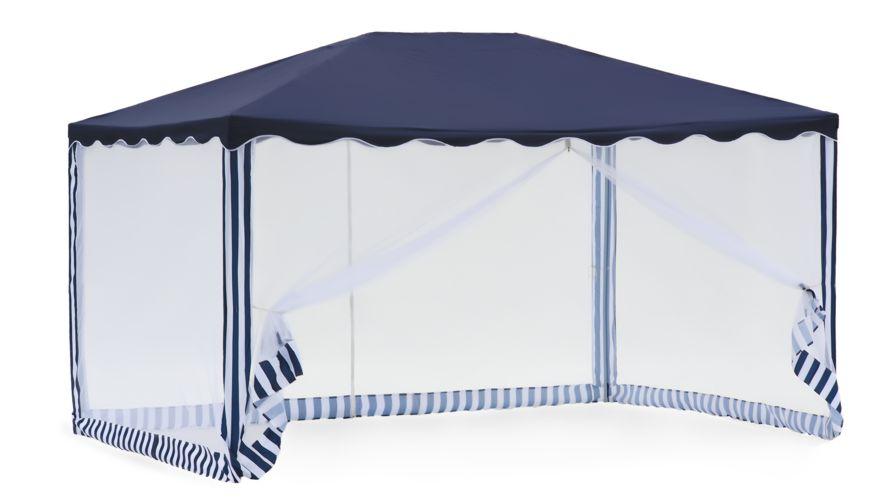 Садовый тент-шатер Green Glade 1038Садовые тенты и шатры<br>Тент шатер green glade 1038 изготавливается из современных высококачественных материалов, дачный тент шатер 1038 защитит вас и от яркого летнего солнца. Современный садовый тент шатер green glade быстро и легко устанавливаются, имеют великолепный внешний вид. Беседка тент шатер для дачи 1038 имеет в комплектации москитную сетку – она позволит спокойно отдыхать, не обращая внимания на комаров, мух и прочих назойливых насекомых, которые так часто досаждают летом.<br><br>Кемпинговый тент шатер оптимален для проведения мероприятий на открытом воздухе. Если вы решили...<br><br>Тип: Садовый тент-шатер<br>Покрытие: сетчатый полиэтилен 140 г<br>Каркас: металлическая трубка (19х19х25 мм)<br>Размеры упаковки: 115х18х20 см