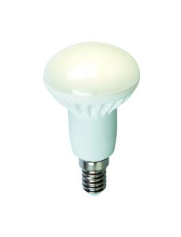 Светодиодная лампа VKlux BK-14B6-EETСветодиодные лампы<br>Лампа светодиодная ВИКТЕЛ BK-14B6-EET одна из самых распространенных ламп направленного света. Модель обеспечивает экономию электроэнергии более чем в 10 раз, по сравнению с обычной лампой накаливания. Поверхность лампы имеет рассеивающее свойство. Корпус выполнен из керамики.<br><br>Срок службы более 35000 часов или более 15 лет при среднем 5-часовом ежедневном использовании.<br><br>Тип: светодиодная лампа<br>Тип цоколя: E14<br>Рабочее напряжение, В: 220<br>Мощность, Вт: 6<br>Мощность заменяемой лампы, Вт: 50<br>Световой поток, Лм: 450<br>Цветовая температура, K: 3000<br>Угол раскрытия, °: 120<br>Материал: керамика