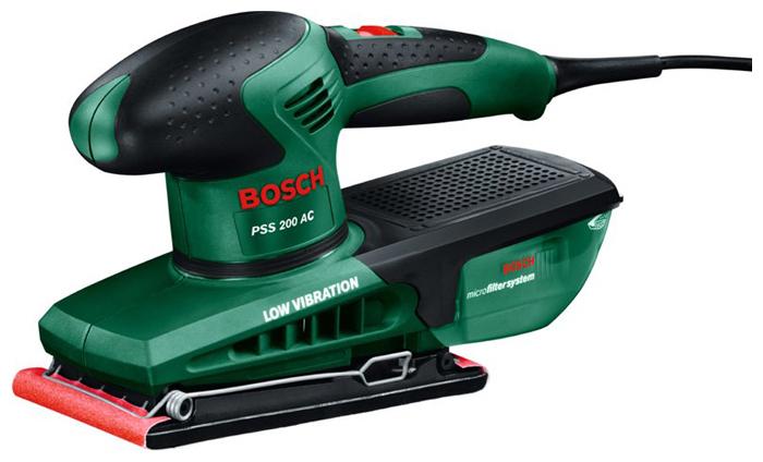 Вибрационная шлифмашина Bosch PSS 200 AC [0603340120]Шлифовальные и заточные машины<br><br>