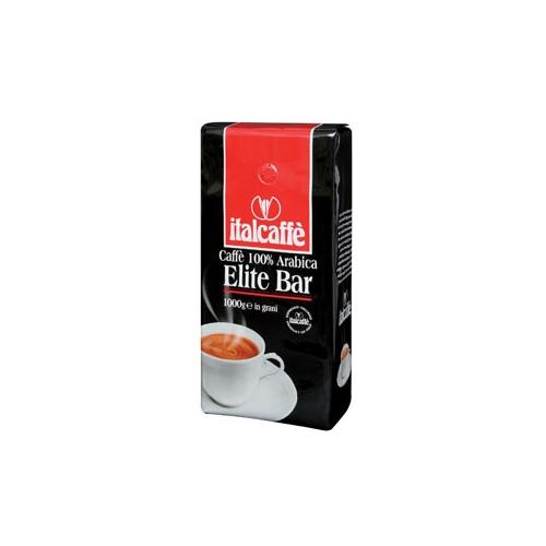 Кофе в зернах Italcaffe Elite Bar 1 кгКофе, какао<br><br><br>Тип: кофе в зернах<br>Обжарка кофе: средняя<br>Состав: 100% Арабика<br>Дополнительно: смесь кофе превосходного качества. Включает в себя наилучшие в мире, тщательно отобранные сорта арабики, имеет характерный вкус кислинки.Подойдёт для  ценителей высококачественного эспрессо.100% Арабика.