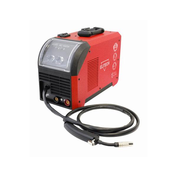 Сварочный аппарат Elitech ИС 160 ПНСварочные аппараты<br>Инверторный полуавтомат ELITECH ИС 160 ПН подходит для эксплуатации в удаленных сельских местностях, на дачах и в гаражах, а также в других местах, где сетевое напряжение может опускаться до 160 В. Высокая продолжительность включения на максимальном токе позволяет долгое время эксплуатировать аппарат в условиях стройки и при проведении различных восстановительных работ. Наличие экрана на панели управления обеспечивает защиту регулировочных элементов от повреждения, пыли и влаги. Данная модель имеет встроенную сварочную горелку. Инвертор раб...<br><br>Тип: сварочный инвертор<br>Напряжение на входе: 160<br>Напряжение холостого хода: 58 В<br>Мощность, кВт: 3.5<br>Диаметр электрода: 1.6-3.2 мм