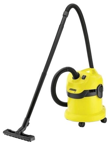 Пылесос Karcher WD 2Пылесосы<br><br><br>Тип: Пылесос<br>Потребляемая мощность, Вт: 1200<br>Тип уборки: Сухая<br>Регулятор мощности на корпусе: Нет<br>Длина сетевого шнура, м: 4<br>Пылесборник: Мешок/циклонный фильтр<br>Емкостью пылесборника : 12 л