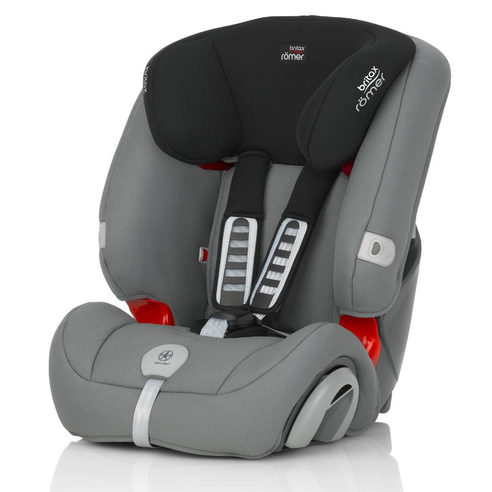 Детское автокресло Britax Romer Evolva 1-2-3 Plus Steel GreyДетские автокресла<br><br>