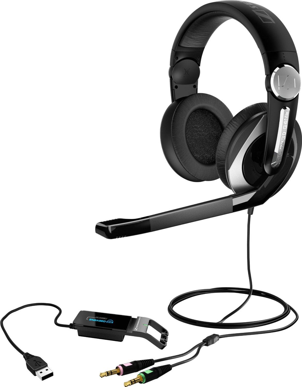 Наушники Sennheiser PC 333DНаушники и гарнитуры<br>Элегантная гарнитура&amp;nbsp;&amp;nbsp;PC 330 разработана для полного погружения в динамичное игровое пространство. Закрытые наушники с большими удобными амбушюрами помогут Вам полностью сосредоточиться на победе, но при этом Вы можете легко слышать своих товарищей по команде, благодаря поворотной конструкции одной их чашек наушников.<br>Другой особенностью гарнитуры является регулятор громкости наушников, интегрированный в правую чашку. Это усовершенствование поможет Вам быстро изменить уровень громкости, исключая судорожный поиск регулятора на кабеле...<br><br>Тип: гарнитура<br>Тип акустического оформления: Закрытые<br>Вид наушников: Мониторные<br>Тип подключения: Проводные<br>Диапазон воспроизводимых частот, Гц: 14 - 22000<br>Сопротивление, Импеданс: 32<br>Чувствительность дБ: 112<br>Микрофон: есть<br>Крепление микрофона: подвижное<br>Импеданс микрофона, Ом: 2200