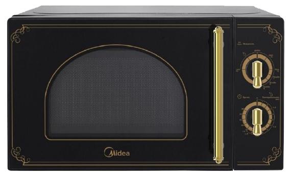 Микроволновая печь Midea MM820CJ7-B3Микроволновые печи<br><br><br>Объём, литров: 20<br>Тип: Микроволновая печь<br>Тип управления: Механическое<br>Переключатели: Поворотные