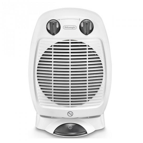 Тепловентилятор Delonghi HVA 3220 BОбогреватели<br><br><br>Тип: термовентилятор<br>Максимальная мощность обогрева: 2000<br>Площадь обогрева, кв.м: 24<br>Вентиляция без нагрева: есть<br>Вентилятор : есть<br>Управление: механическое<br>Регулировка температуры: есть<br>Термостат: есть<br>Защита от мороза : есть<br>Напольная установка: есть