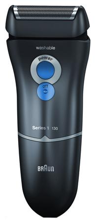 Электробритва Braun 130 Series 1Электробритвы<br><br><br>Тип : Сеточная электробритва<br>Количество бритвенных головок: 1<br>Плавающие головки: Нет<br>Способ бритья: Сухое<br>Скорость мотора, об/мин: н/а<br>Триммер: Есть<br>ЖК-дисплей: Нет