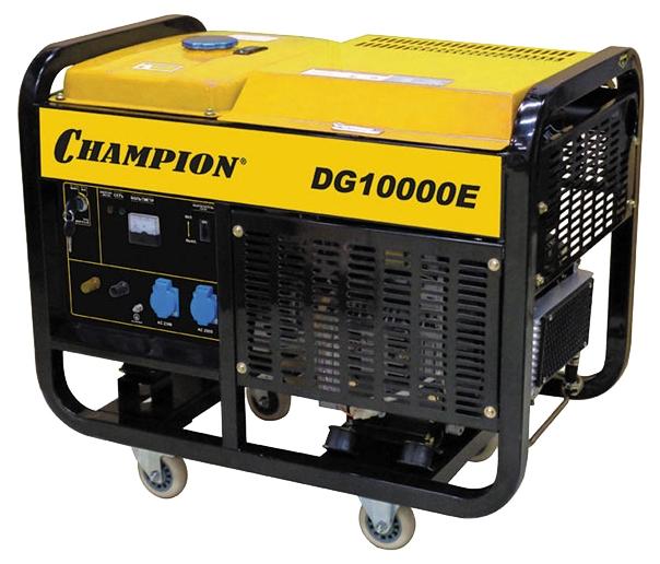 Электрогенератор Champion DG10000E