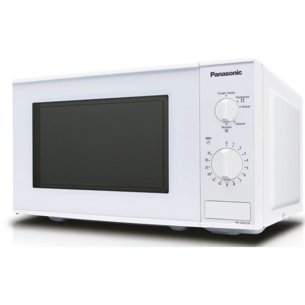 Микроволновая печь Panasonic NN-SM221WZTEМикроволновые печи<br><br><br>Объём, литров: 19<br>Тип: Микроволновая печь<br>Тип управления: Механическое<br>Дисплей: Нет<br>Переключатели: Поворотные
