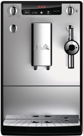 Кофемашина Melitta Caffeo Solo&amp;milk Silver/BlackКофеварки и кофемашины<br><br><br>Тип используемого кофе: Зерновой<br>Мощность, Вт: 1400<br>Объем, л: 1.2<br>Давление помпы, бар  : 15<br>Материал корпуса  : Пластик<br>Материал рожка  : Металл<br>Встроенная кофемолка: Есть<br>Емкость контейнера для зерен, г  : 125<br>Одновременное приготовление двух чашек  : Есть<br>Подогрев чашек  : Есть