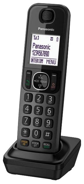 Дополнительная трубка Panasonic KX-TGFA30RUMРадиотелефон Dect<br><br><br>Тип: Дополнительная радиотрубка<br>Стандарт: DECT/GAP<br>Полифонические мелодии: да<br>Дисплей: на трубке (монохромный с подсветкой)<br>Подсветка кнопок на трубке: Есть<br>Возможность настенного крепления: Есть<br>Журнал номеров: 50 номеров<br>Количество аккумуляторов: 2<br>Формат: AAA<br>Тип аккумулятора: Ni-MH