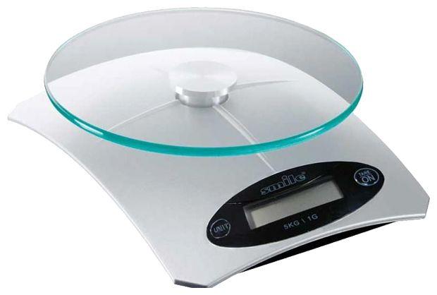Кухонные весы SMILE KSE 3210Весы<br><br><br>Тип: кухонные весы<br>Тип весов: электронные<br>Предел взвешивания, кг: 5<br>Точность измерения, г: 1