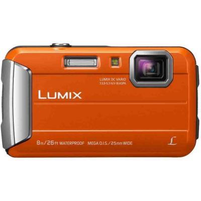 Цифровой фотоаппарат Panasonic Lumix DMC-FT30 OrangeЦифровые фотоаппараты<br><br><br>Тип: Цифровой Фотоаппарат<br>Оптическое увеличение: 4x<br>Цифровое увеличение: 4x<br>Стабилизатор изображения: Оптический<br>Видеорежим: Есть<br>Звук в видеоклипе: Есть<br>Вспышка: Есть<br>Цвет: Оранжевый<br>Кроп фактор: 5.7<br>Тип матрицы: CMOS