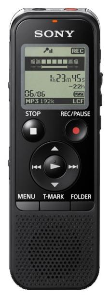 Цифровой диктофон Sony ICD-PX440 4Gb Black