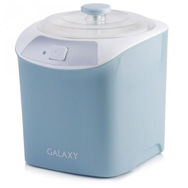 Йогуртница Galaxy GL 2694Домашние помощники<br>С помощью йогуртницы вы можете радовать родных и близких вкуснейшими йогуртами, молочными десертами, домашней сметаной, кефиром.<br><br>Особенности<br>- Объем контейнера 1 литр позволяет готовить вкусное и полезное лакомство для большой семьи.<br>- Благодаря низкому потреблению электроэнергии вы можете чаще экспериментировать с собственными кулинарными идеями.<br>- В свою очередь, элегантный и стильный дизайн йогуртницы органично впишется в самый изысканный кухонный интерьер.<br>
