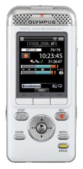 Диктофон Olympus DM-7 WhiteДиктофоны<br><br><br>Тип: Цифровой диктофон<br>Обьём встроенной памяти Mb: 4000<br>Разём для карт памяти: Secure Digital<br>Мощность звука (на канал) мВт: 280<br>Встроенный динамик: есть