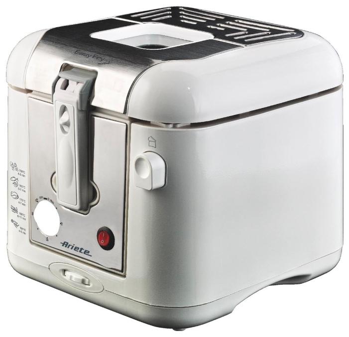 Фритюрница Ariete 4612Фритюрницы<br><br><br>Вместимость картофельных ломтиков кг.: 0.8<br>Мощность Вт: 2000<br>Фильтр против запаха: есть