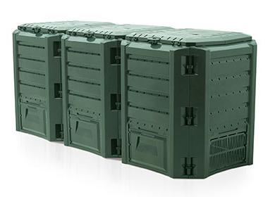 Компостер Module IKSM1200Z-G851Садовые компостеры<br><br><br>Тип: компостер<br>Объем, л: 1200