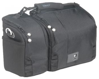 Кофр Kata Hybrid 537BСумки, рюкзаки и чехлы<br>Сумка Kata Hybrid 537B рассчитана на переноску цифровой зеркальной камеры средних размеров со штатным объективом и дополнительным объективом / вспышкой в одном отделении и видеокамеры - в другом. Рабочее пространство большой сумки настраивается с помощью перегородок, идущих в комплекте. Фотоаппарат загружается объективом вниз и поддерживается на мягких перегородках. Предусмотрено место для небольших аксессуаров - два кармана на липучке на внутренней стороне крышки сумки KATA Hybrid 537.<br><br>Тип: сумка<br>Описание : сумка для фотокамеры