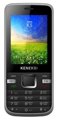 Мобильный телефон Keneksi K5 BlackМобильные телефоны<br><br>