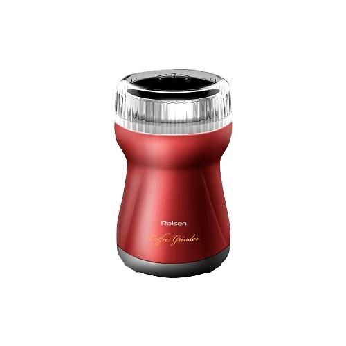 Кофемолка Rolsen RCG 151 Red