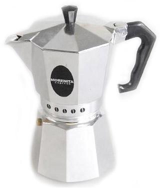 Кофеварка Bialetti Morenita 6 п. 63Кофеварки и кофемашины<br><br><br>Тип : гейзерная кофеварка<br>Тип используемого кофе: Молотый<br>Объем, л: 0,24<br>Материал корпуса  : Металл