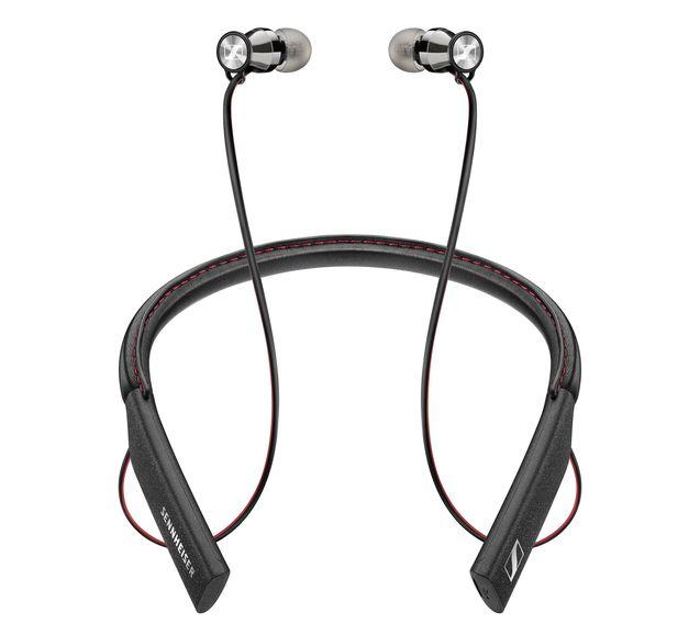Наушники Sennheiser Momentum In-Ear Wireless (M2 IEBT 507353) BalckНаушники и гарнитуры<br>Новую momentum in-ear wireless m2 iebt отличают чрезвычайно элегантный дизайн, безупречное звучание и удобная форма, идеально приспособленная для продолжительного ношения и комфортного использования. Эта изящная и легкая мобильная гарнитура с нашейным ободом выполнена из первоклассных материалов и способна в беспроводном режиме воспроизводить настоящий hifi-звук, высочайшее качество которого гарантируется технологиями bluetooth 4.1 и qualcomm apt-x. А благодаря nfc-модулю для быстрого подключения, встроенному микрофону и мощной батарее, обеспечивающей до 10 часов ...<br><br>Тип: гарнитура<br>Вид наушников: Вставные<br>Тип подключения: Беспроводные<br>Микрофон: есть