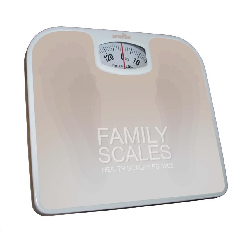 Весы SMILE PS 3202Весы<br><br><br>Тип: напольные весы<br>Тип весов: механические<br>Предел взвешивания, кг: 150<br>Точность измерения, г: 1000