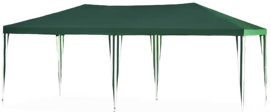 Садовый тент-шатер Green Glade 1057Садовые тенты и шатры<br>Садовый тент шатер Green Glade 1057 - изготовлен из современных материалов высокого качества, обладает большой площадью &amp;#40;18 кв.м.&amp;#41; прекрасно защищает от палящего солнца. Шатер&amp;nbsp;&amp;nbsp;прекрасно смотрится и легко и быстро устанавливается . Можно использовать этот шатер как замену дачной беседки, но также без труда его можно брать с собой на выезды на природу.<br><br>Тип: Садовый тент-шатер<br>Покрытие: полиэстер 160 г<br>Размеры упаковки: 118х24х24 см