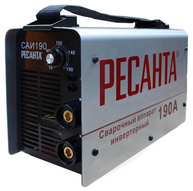 Сварочный аппарат Ресанта САИ 190Сварочные аппараты<br><br>