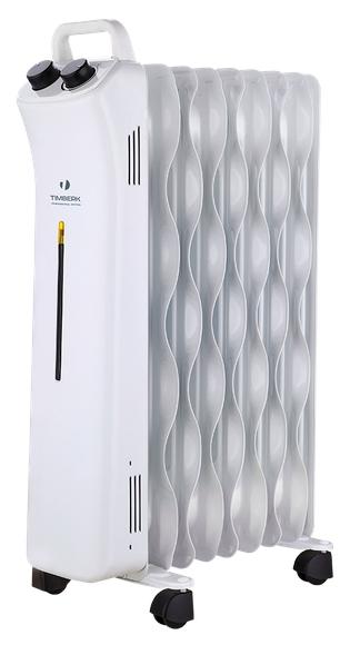 Масляный радиатор Timberk TOR 51.2009 BTMОбогреватели<br><br><br>Тип: масляный радиатор<br>Максимальная мощность обогрева: 2000 Вт<br>Площадь обогрева, кв.м: 25<br>Количество секций: 9<br>Отключение при перегреве: есть<br>Каминный эффект : есть<br>Управление: механическое<br>Регулировка температуры: есть<br>Термостат: есть<br>Защита от мороза : есть