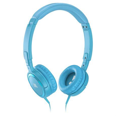 Наушники JBL Tempo On-Ear J03 U, синийНаушники и гарнитуры<br>JBL Tempo On-Ear L03 U для удовольствия и стильного образа.<br>Настроение поднимается не только от звуков любимой музыки, но и от стильных аксессуаров — ярких и красивых. Так что вам очень повезло, ведь наушники JBL Tempo On-Ear L03 U синего цвета сочетают в себе сразу два этих свойства: превосходное звучание музыки и стильный дизайн, который так радует глаз.<br>Кстати, создатели этих наушников позаботились не только о красоте, но и об удобстве. Мягкие амбушюры, плотно прилегающие к уху, комфортное оголовье с удобным амортизатором, легкая конструкция, а еще чехол в комплекте!...<br><br>Тип: наушники<br>Тип акустического оформления: Закрытые<br>Вид наушников: Мониторные<br>Тип подключения: Проводные<br>Номинальная мощность мВт: 30<br>Диапазон воспроизводимых частот, Гц: 20 - 20000 Гц<br>Сопротивление, Импеданс: 32<br>Чувствительность дБ: 112