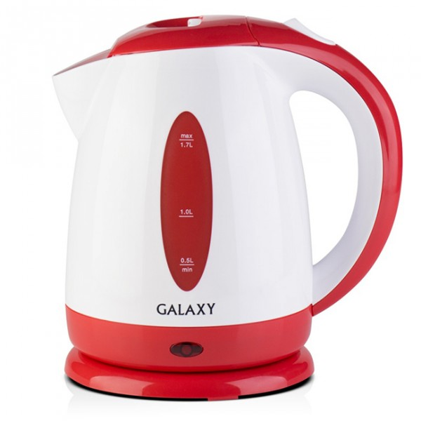 Электрочайник Galaxy GL 0221 RedЧайники и термопоты<br>Техника для приготовления горячих напитков Galaxy отвечает всем современным требованиям надежности и безопасности.<br><br>При ее производстве используются только высококачественные и экологически безопасные материалы, а также нагревательные элементы и контроллеры высокого класса надежности.<br><br>Среди разнообразия моделей каждая будет служить Вам долгие годы, наполняя Ваш быт комфортом.<br>