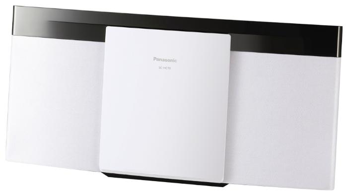 Микросистема Panasonic SC-HC19EE-W WhiteМинисистемы и магнитолы<br><br><br>Тип: Микросистема<br>Основной блок: Одноблочная<br>Комплект акустических систем: 2.0<br>Полная выходная мощность (RMS): 20<br>FM-приемник: Есть<br>Поддерживаемые форматы: MP3<br>Поддерживаемые носители: CD, CD-R, CD-RW