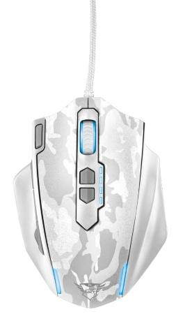 Компьютерная мышь Trust GXT 155 Gaming Mouse Camouflage White USB (20852)