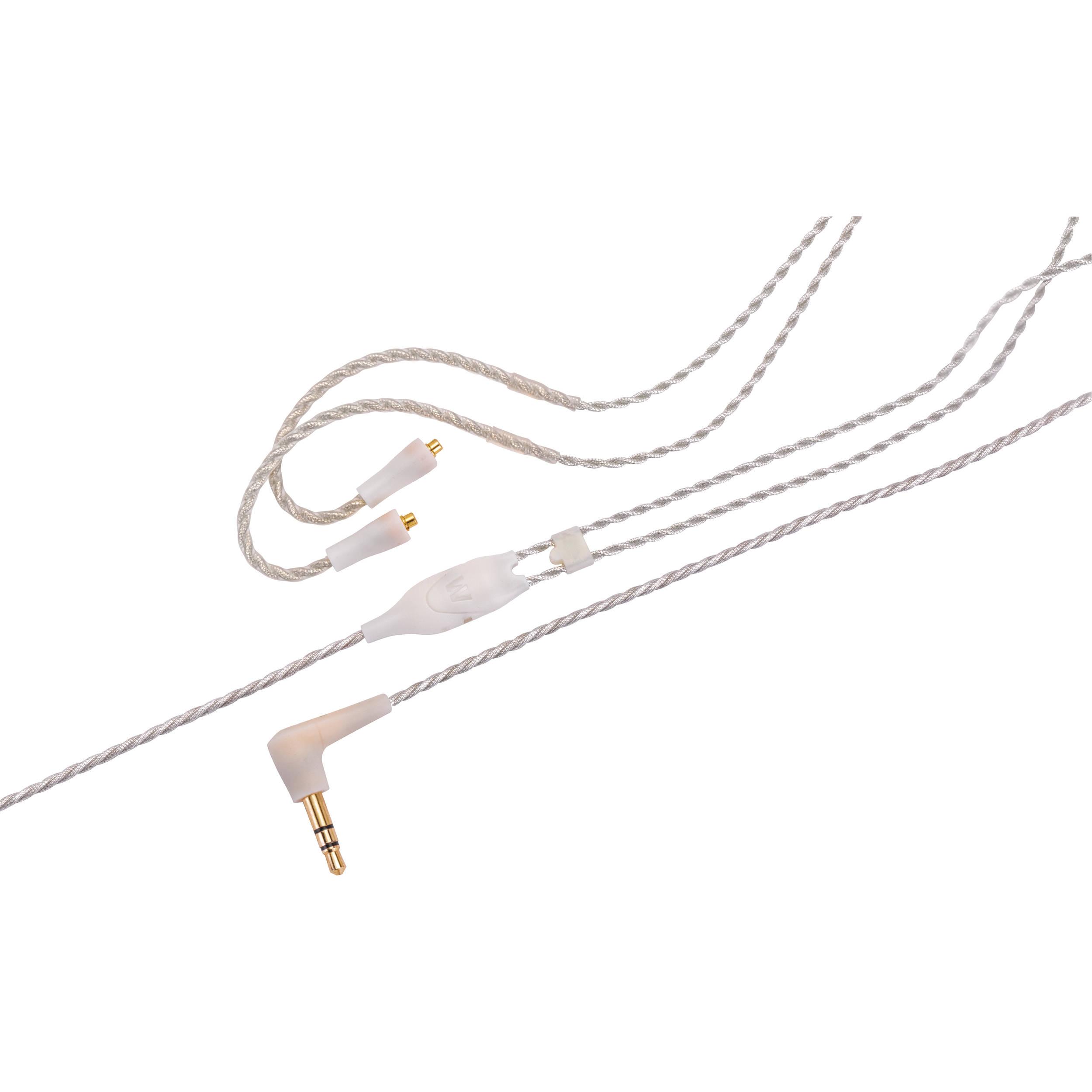 Сменный кабель для наушников Westone ES/UM Pro Cable 52 Clear 78563Аксессуары для наушников<br>Westone Cable ES/UM Pro - это сменный кабель для наушников серий Adventure Series, ES, AC, UMPro и мониторов серии W. Прямой витой кабель с разъемом MMCX.<br>