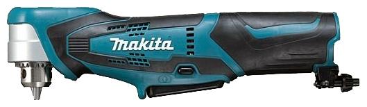 Дрель-шуруповерт Makita DA330DWEДрели, шуруповерты, гайковерты<br>- Аккумуляторная угловая дрель Makita DA330DWE отличается компактным размером и весит чуть больше килограмма. Высота головной части с патроном составляет 66 мм, что позволяет сверлить в ограниченном пространстве, а также рядом со стенами, внутри узких объектов, рядом с карнизами или под потолком.<br>- Используя различные насадки, с аккумуляторной угловой дрелью Макита DA330DWE можно сверлить металл сверлами диаметром до 10 мм, дерево – до 12 мм, а также закручивать и откручивать небольшие шурупы, саморезы, винты. Применяя щетки, можно чистить и зачищать различные...<br><br>Тип: дрель-шуруповерт<br>Тип инструмента: ударный<br>Тип патрона: ключевой<br>Количество скоростей работы: 1<br>Питание: от аккумулятора<br>Тормоз двигателя: есть<br>Возможности: реверс, электронная регулировка частоты вращения<br>Тип аккумулятора: Li-Ion<br>Съемный аккумулятор: есть<br>Дополнительный аккумулятор: есть