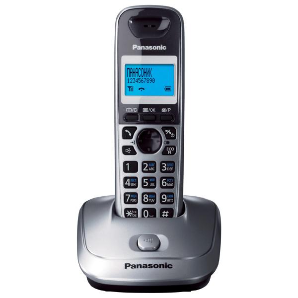 Радиотелефон Panasonic KX-TG2511RUMРадиотелефон Dect<br>Panasonic kx tg2511rum<br>Радиотелефон Panasonic kx tg2511rum с монохромным дисплеем — это очень экономный и, в то же время, очень эффективный вариант для качественной и надежной связи. Цена этого радиотелефона, действительно, впечатляет. Многие начинают задаваться вопросом: можно ли за такие маленькие деньги приобрести качественный телефон? На что мы однозначно отвечаем: можно! Компания Panasonic всегда была известна высоким качеством свой техники. Модель, которая сейчас перед вами, в очередной раз подтверждает эти слова.<br>Удобный интерфейс, эргономичный дизайн, наличие...<br><br>Тип: Радиотелефон<br>Количество трубок: 1<br>Рабочая частота: 1880-1900 МГц<br>Стандарт: DECT<br>Радиус действия в помещении / на открытой местност: 50/300 м<br>Время работы трубки (режим разг. / режим ожид.): 18/170<br>Дисплей: монохромный дисплей<br>Возможность настенного крепления: Есть<br>Журнал номеров: 50