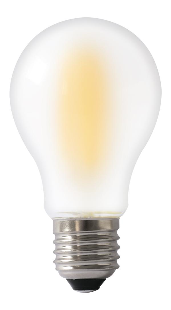 Светодиодная лампа VKlux BK-27W8G60 FrostedСветодиодные лампы<br><br><br>Тип: светодиодная лампа<br>Тип цоколя: E27<br>Рабочее напряжение, В: 220<br>Мощность, Вт: 8<br>Мощность заменяемой лампы, Вт: 85<br>Световой поток, Лм: 800<br>Цветовая температура, K: 3000<br>Угол раскрытия, °: 360<br>Гарантия, мес.: 24