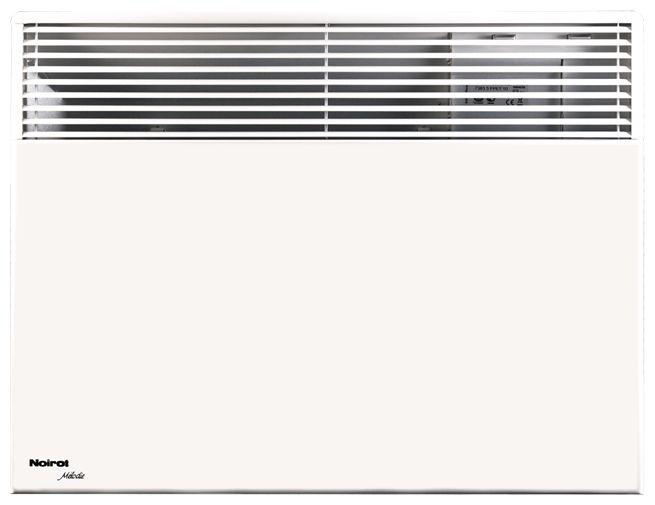 Конвектор Noirot Melodie Evolution low 500Обогреватели<br>Конвектор серии Noirot представлен на Техномарт в нескольких модельных рядах. Правильный выбор позволяют сделать сравнительная цена, отзывы покупателей, фото. Небывалым спросом пользуется конвектор модельного ряда Noirot Melodie Evolution low 500, решение купить который, возникает моментально при изучении достоинств прибора. Данный электрический обогреватель&amp;nbsp;&amp;nbsp;при небольших габаритах и мощности обеспечивает хороший прогрев помещения. Обогреватель Noirot, можно заказать&amp;nbsp;&amp;nbsp;для создания единой системы отопления. <br>Noirot Melodie Evolution low 500 оснащен автоматикой,...<br><br>Тип: конвектор<br>Максимальная мощность обогрева: 500<br>Площадь обогрева, кв.м: 8<br>Отключение при перегреве: есть<br>Влагозащитный корпус: есть<br>Регулировка температуры: есть<br>Термостат: есть<br>Защита от мороза : есть<br>Выключатель со световым индикатором: есть<br>Настенный монтаж: есть