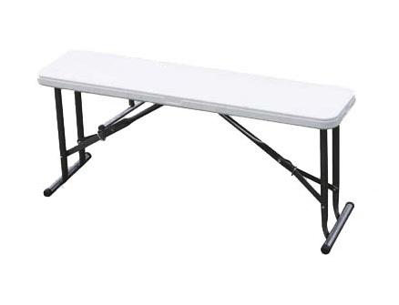 Садовая скамейка Green Glade C095Садовая мебель, клумбы<br><br><br>Тип: садовая скамейка<br>Материал : пэнд+сталь<br>Складная конструкция: есть<br>Каркас: стальная труба с полимерным покрытием , диаметр 25