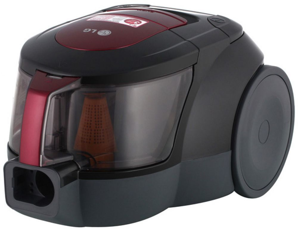 Пылесос LG VK706W02NYПылесосы<br>- Фильтр HEPA 11 предназначен для уменьшения присутствия аллергенов и пылевых клещей.<br>- Контейнер легко вытаскивается и моется.<br>- Компактный дизайн безмешковых пылесосов LG обеспечивает лёгкое хранение.<br>- Благодаря особой форме эллипса, обеспечивается высокая центробежная сила, которая концентрируется в узкой части эллипса и увеличивает мощность воздушного потока в его широкой части, что позволяет отделять даже микрочастицы пыли от воздуха.<br><br>Тип: Пылесос<br>Потребляемая мощность, Вт: 2000<br>Мощность всасывания, Вт: 380<br>Тип уборки: Сухая<br>Регулятор мощности на корпусе: Нет<br>Длина сетевого шнура, м: 5<br>Фильтр тонкой очистки: Есть<br>Пылесборник: Циклонный фильтр<br>Емкостью пылесборника : 1.20 л<br>Индикатор заполнения пылесборника: Есть