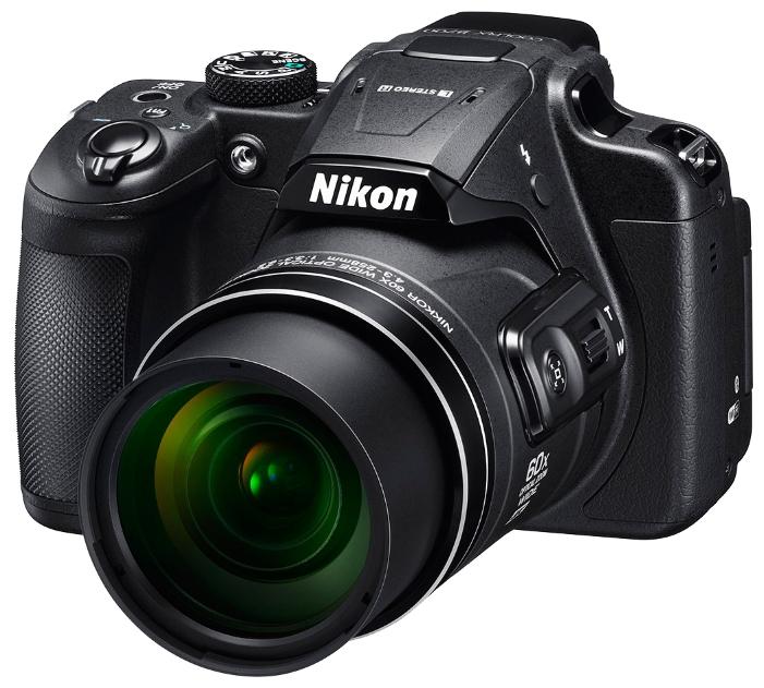 Цифровой фотоаппарат Nikon Coolpix B700 BlackЦифровые фотоаппараты<br><br><br>Тип: Цифровой Фотоаппарат<br>Оптическое увеличение: 60x<br>Цифровое увеличение: 3x<br>Стабилизатор изображения: Оптический<br>Вспышка: Есть<br>Кроп фактор: 5.62<br>Тип матрицы: BSI CMOS<br>Размер матрицы: 1/2.3<br>Чувствительность: 100 - 3200 ISO, Auto ISO